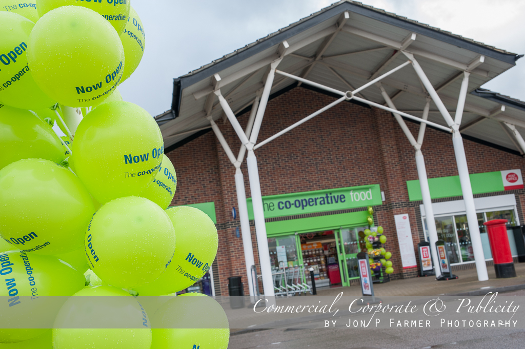 The Co-Operative: Wellingborough Branch Rebrand