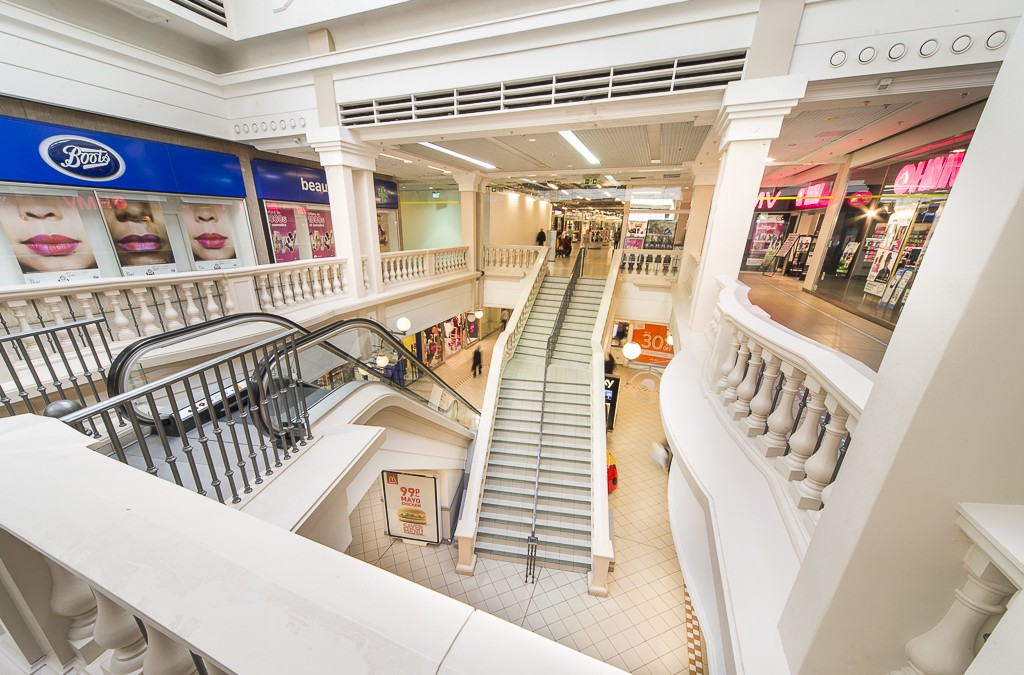 Grosvenor Centre Refurbishment: Part One