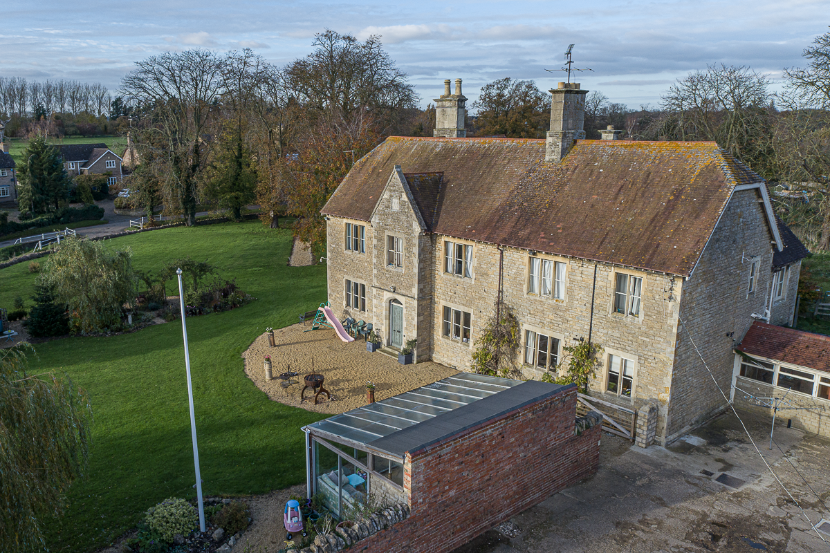 Aerial photography for property marketing